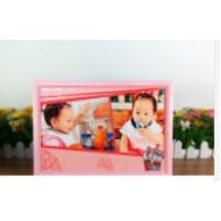 【i930個性小舖】A4拼圖相框  (含拼圖)  --  粉色